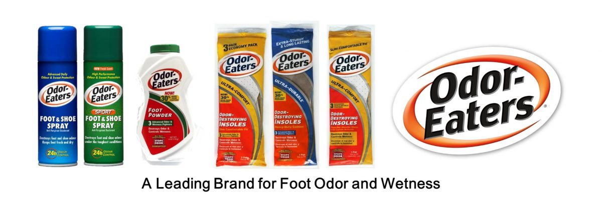 Odor Eaters product range
